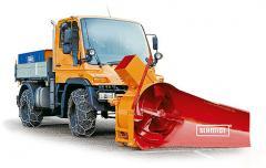 Навесной шнеко-роторный снегоочиститель серии S