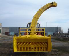 Шнекороторный снегоочиститель BDT-7125