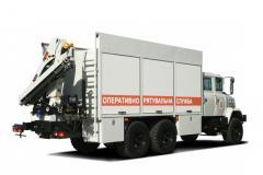Аварийно-спасательный автомобиль КрАЗ 63221