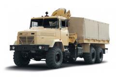 Ремонтно-эвакуационный автомобиль КрАЗ 6322