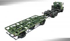 Прицеп КрАЗ А141Н2 (база для военного обрудования)