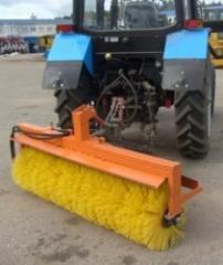 Щетка гидравлическая задняя для тракторов