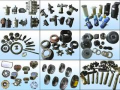 Spare parts to tractors