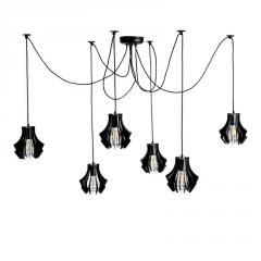 Industrial Spider Chandelier Pendant Light Spider