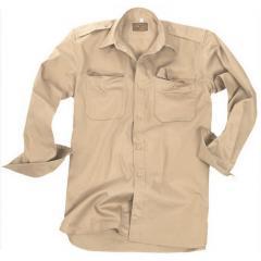 Рубашка рип-стоп (длинный рукав) Mil-Tec койот