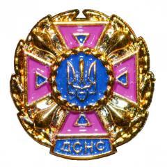 """Эмблема """"ГСЧС"""" пластиковая"""
