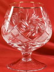 Shot glass of crystal s0008/10 190 g with an