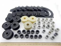 Комплект пластмассовых изделий сеялки СУПН-8 (арт. 5302)