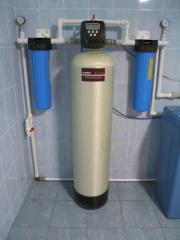 Фильтры и системы очистки воды (умягчитель,обезжелезователь)для коттеджей.