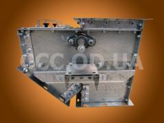 КОЭ-500, Клапан перекидной маятниковый односторонний электрический, сечение 500х500
