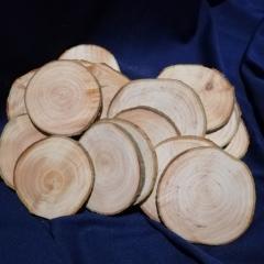 Спил дерева круглый 70-80 мм ( ель )