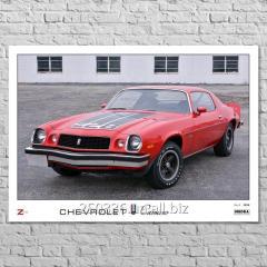 Плакат Chevrolet Camaro Gen.2