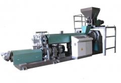 Equipment for processing of polymeric materials