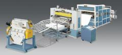 Equipment for production of packing of VFK