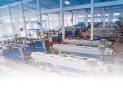 Equipment for production of front profiles