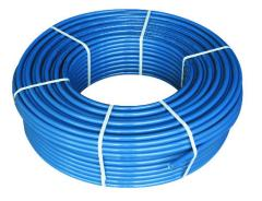 Pipes for a heat-insulated floor. Pipe PE-RT for