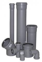 PVC sewer pipes and fitting