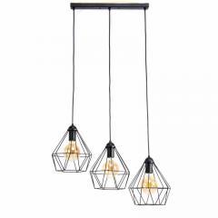 Подвесной светильник на три лампы Crystal