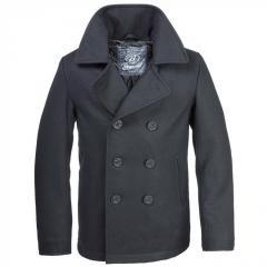 Полупальто Brandit Pea Coat черное