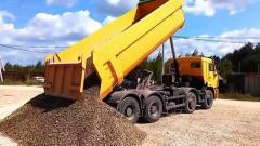 Сыпучие строительные материалы(песок,щебень всех