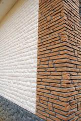 The tile is front and facing, the Tile facing,