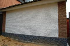 The tile is front and facing, Building materials,