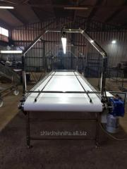Инспекционный сортировочный стол (конвейер