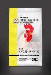 Комбикорм Гроувер для бройлеров  ПК 6-6