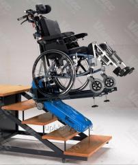 Гусеничный лестничный подъемник для инвалидов б\у