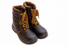 Ботинки кожаные BWPuOC с завышенными берцами р.38 (15011)