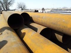 Pipes from ferrous metals