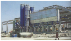 Equipment for production of concrete
