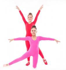 Комбинезон для танцев и гимнастики трикотаж
