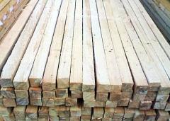 Брусок монтажный деревянный 40х60,  рейка...