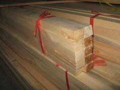 Монтажные рейки деревянные сосновые