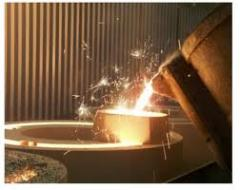 Technological mix for Foundry manufacture