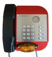 Промышленный антивандальный всепогодный телефонный