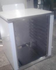 Расстоечный шкаф из нержавеющей стали 600х650х760 под противень 460х330