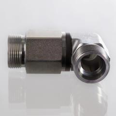 Поворотное резьбовое соединение, угол 90°, шарикоподшипник - DGR 90