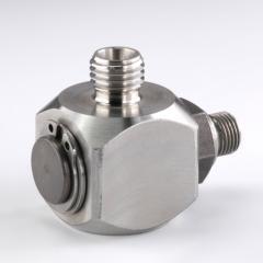 Поворотное резьбовое соединение, угол 90°, подшипник скольжения - GVR 90 ED VA