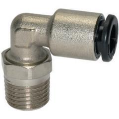 Male elbows, swivel type, conical male thread - K-L-STECKVER DREH AG-K