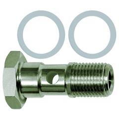 Banjo bolts with PTFE seal, single - K-HS PTFE