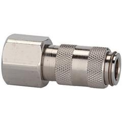 Quick disconnect couplings DN 2.7, nickel-plated brass, female - K-SVKM NW 2,7 IG MS NI