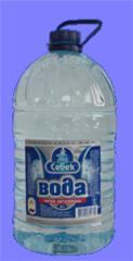 Вода питьевая негазированная в бутылях 6л.