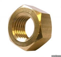 Nuts brass wholesales across Ukraine