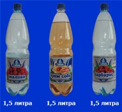 """Минеральная вода """"Себек"""" в бутылках"""