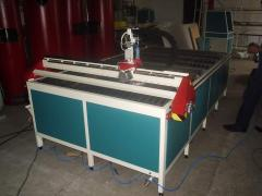 Installations of plasma cutting of metals