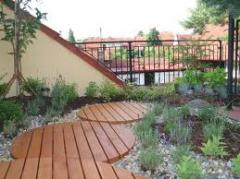 Roof garden - projects of the organization of