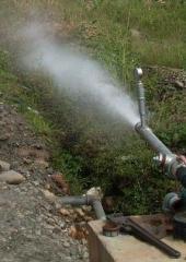 Дегазатор для очистки подземной воды