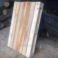 Деревянный поддон 1200х800х144мм., паллеты